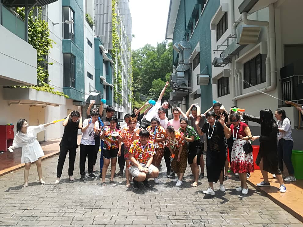 Thai Interns Share Festive Joy With First City Students and Staff