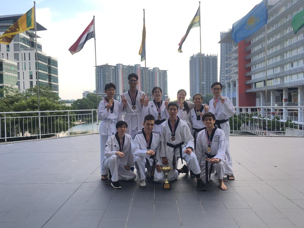 Congratulations to our FCUC Sports Team for their excellent performance @ Taylor's 1st Invitational Taekwondo Championship 2019